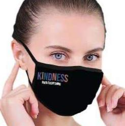 house of tens kindness over everything face mask