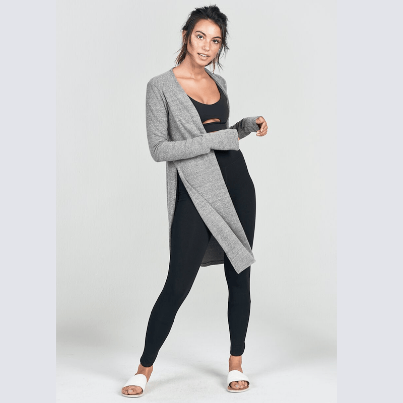 cardigan luna in gray by joah brown