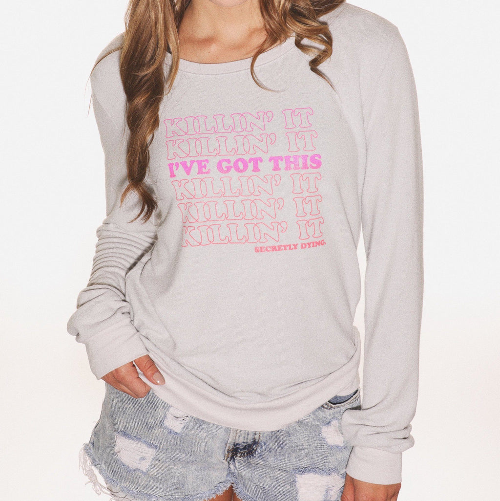 Killin' It - Cozy Pullover