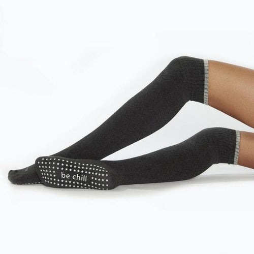 Be Chill Knee High Grip Socks  (Barre / Pilates)