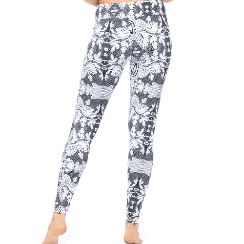 The Knit Printed Legging