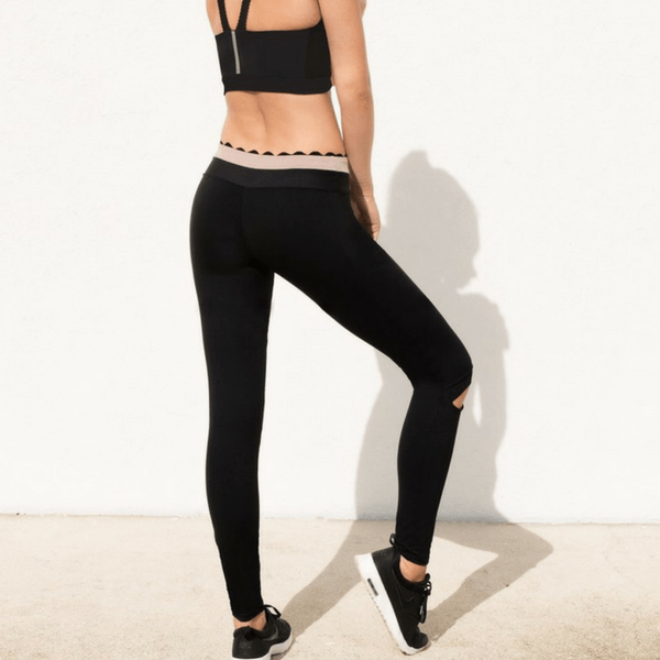 Track & Bliss Black Knock Out Leggings