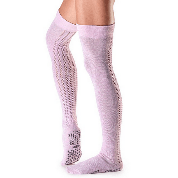 Kris Over the Knee High Grip Socks (Barre/Pilates)