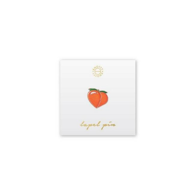 Peach Lapel Pin