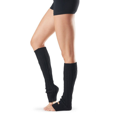 Maddie Grip Socks - Ebony (Pilates / Barre)