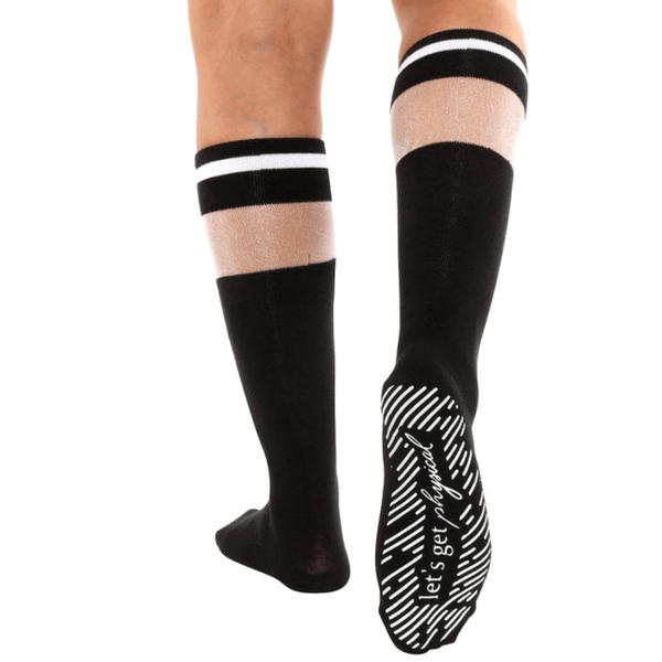 Let's Get Physical - Calf High Grip Socks (Barre / Pilates)