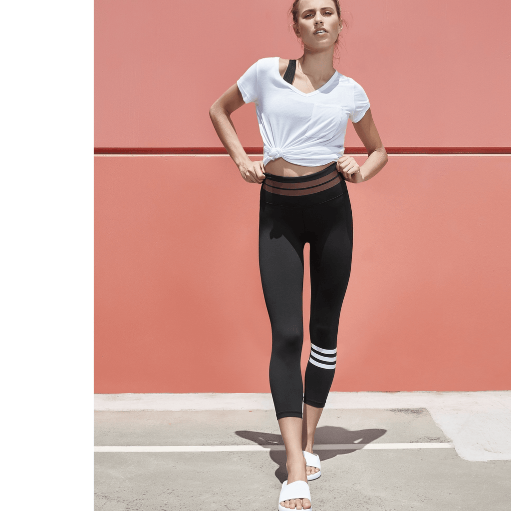 Remy Tarmac Black Leggings