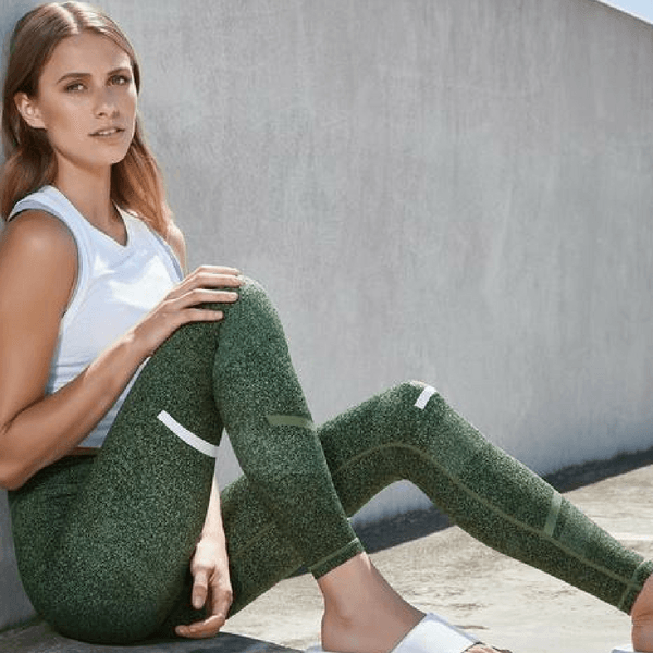 Gemma Olive Burst Leggings