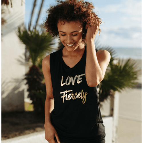 Love Fiercely - Muscle Tank