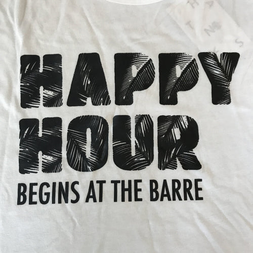 Happy Hour Begins at the Barre - High Neck Tank