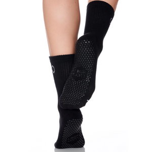Lucky Honey the Dad Sock in Black Grip Sock