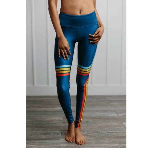 Lucky Stripe goldsheep apparel Legging