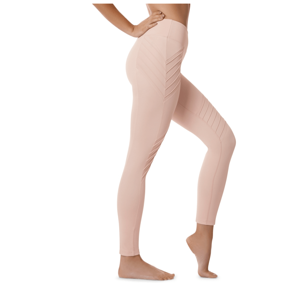 New Beginnings - 7/8 Leggings - Blush