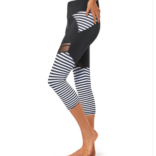 Nautical and Nice - 3/4 Leggings