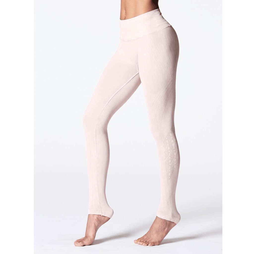Mineral Wash Mesa Leggings - Sheer Pink