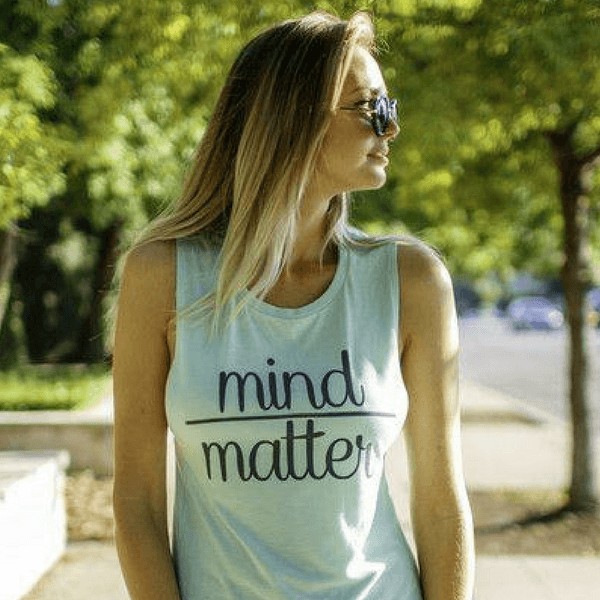 mind over matter mint workout tank by edje activ