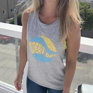 move and moxie barre every day gray muscle tank