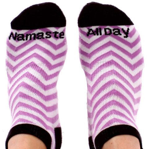 Namaste All Day (Yoga) - Rock These Socks