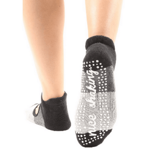Nice Shaking Mary Jane - Grip Socks (Barre / Pilates)