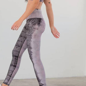 niyama sol lavender latte ashbury high waist leggings