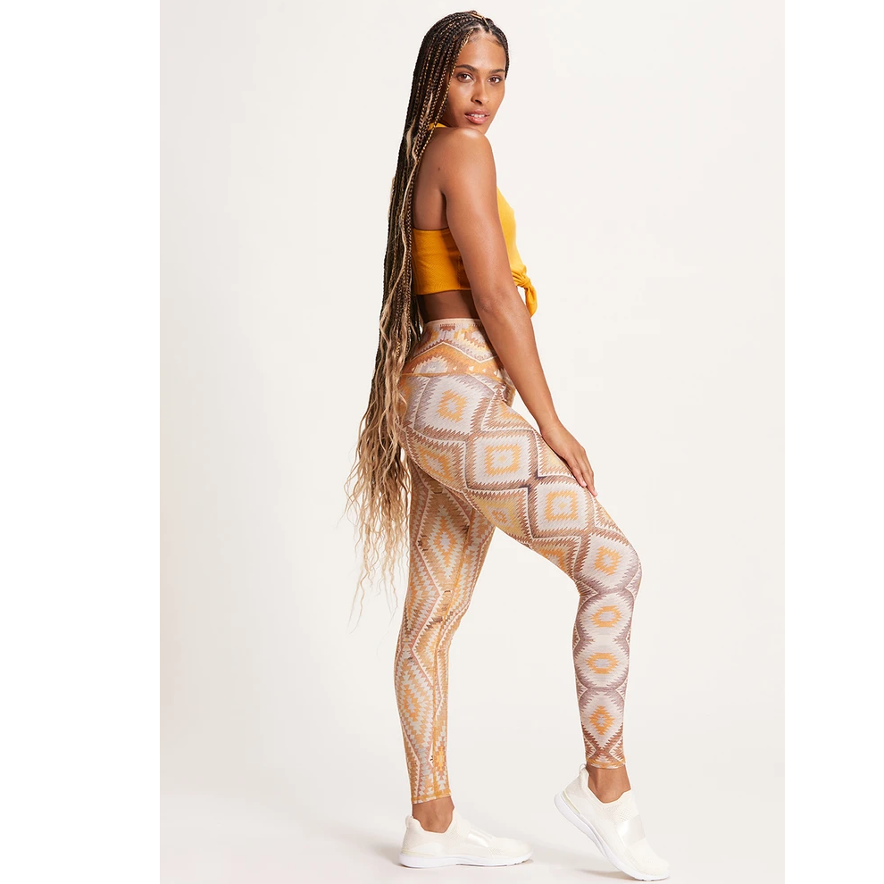 niyama sol kilim high waisted sunshine leggings