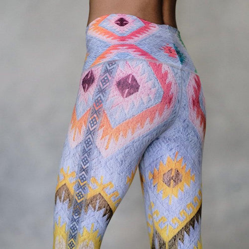 Electric Kilim Leggings