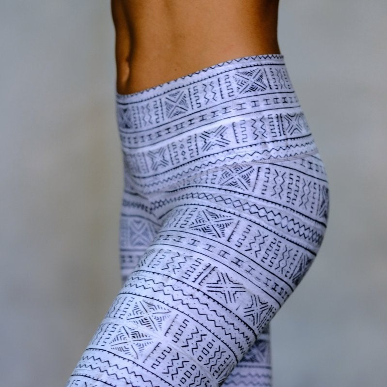 Moonflower Barefoot Leggings