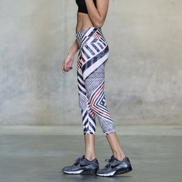 Niyama Sol Legging Beachcomber White Stripe