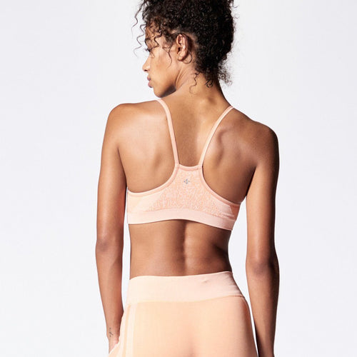 Ebb & Flow Bra - Dusty Peach
