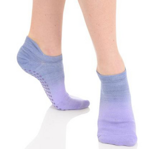 Great Soles Ombre Lilac Grip Sock