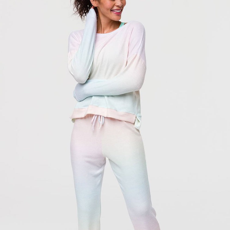 Onzie High Low Sweatshirt Dreamsicle