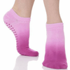 Ombre Grip Sock - Orchid (Barre / Pilates) - Great Soles in pink