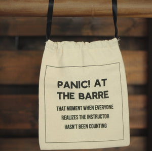 Deluxe Grip Sock Bag - Panic! At the Barre
