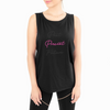 emi jay past present future workout tank in black