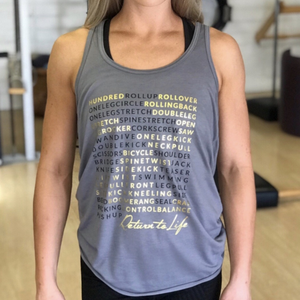 Pilates Nerd - March Matness Return to Life Tank Top