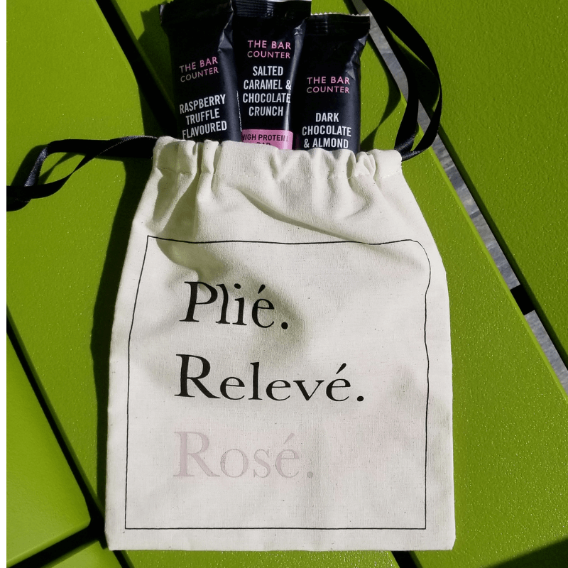 Deluxe Grip Sock Bag - Plie Releve Rose