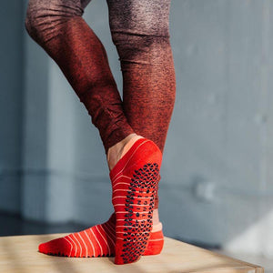 pointe studio donna grip socks red