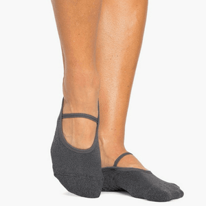 pointe studio Karina Grip Socks charcoal