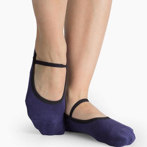 pointe studio Karina Grip Socks navy