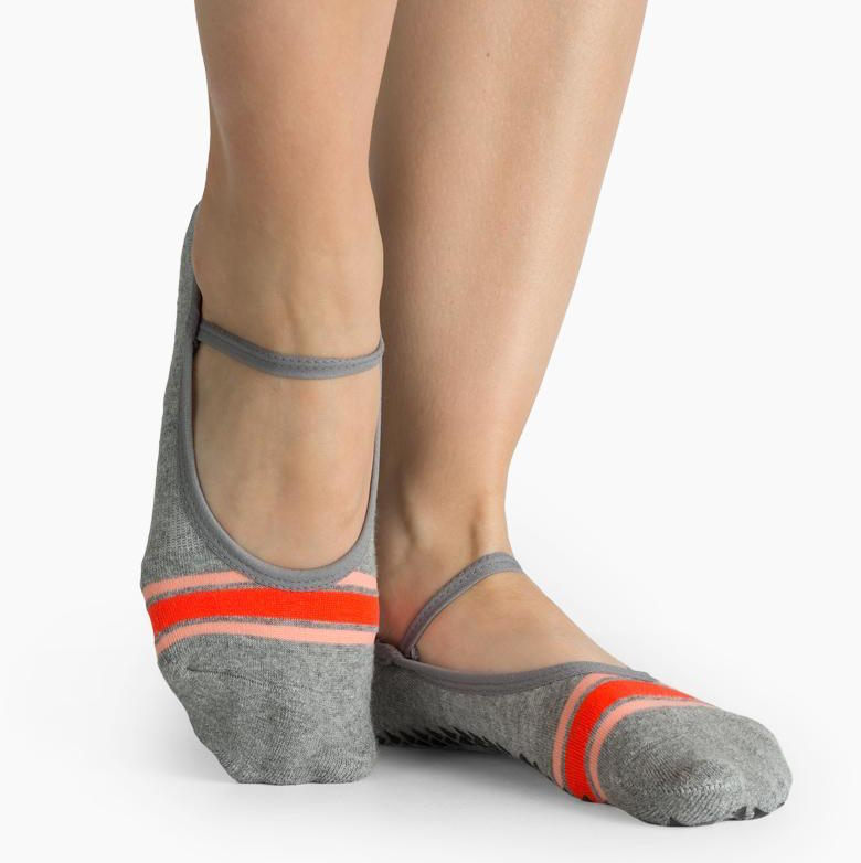 Rhea Grip Sock Grey