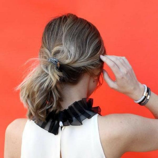 Luxe Hair Ponies - French Blue
