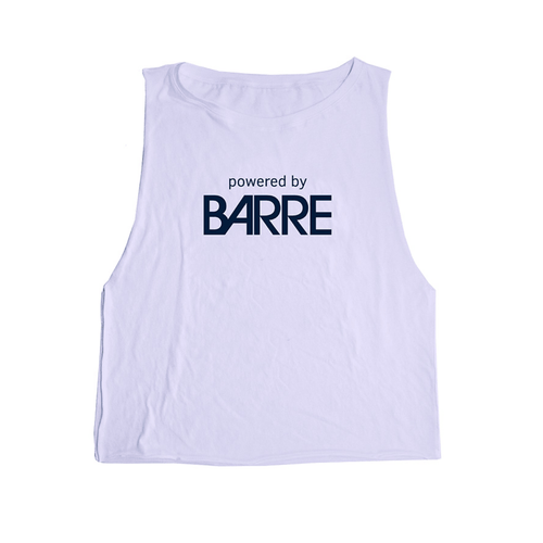 Powered by Barre Tank - Lavender