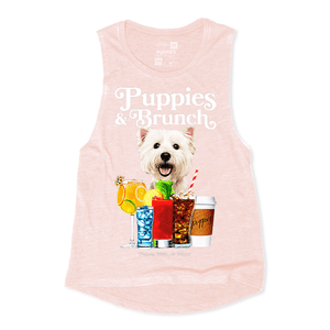 Puppies and Brunch Tank