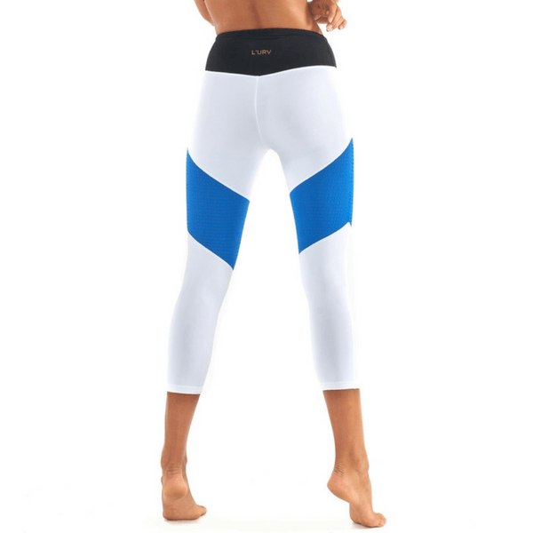 lurv Race Ready white Leggings - 3/4 Length