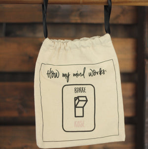 Deluxe Grip Sock Bag - How My Mind Works