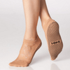 star grip shashi socks in nude for barre and pilates