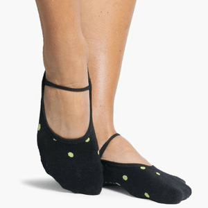 pointe studio Shay Dance Grip Socks black green