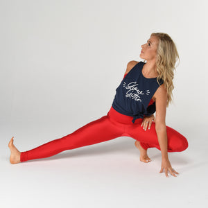 simply workout glow getter navy