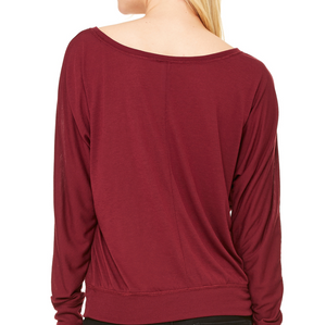 simply workout Plié Relevé Rosé Long Sleeve Tee