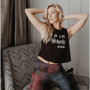 Spin FOMO is Real - Crop Tank